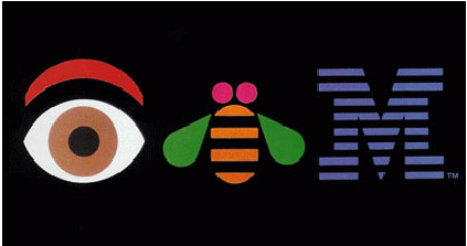 the spoof on the IBM logo