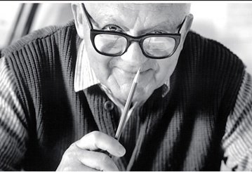 Paul Rand as an well established icon
