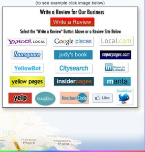 This page is part of our Local SEO 'Write' A Review Program